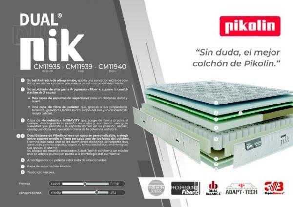 Colchón Pikolín Premium Pik Medium