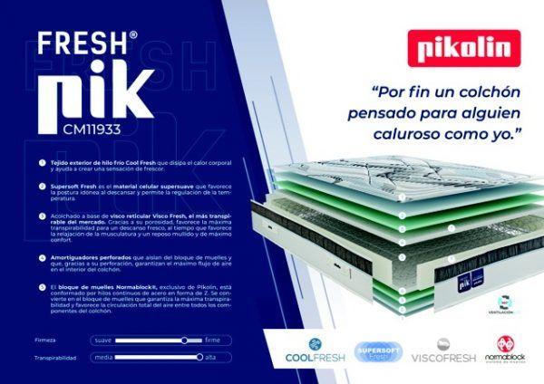 Colchón Pikolín Fresh Pik