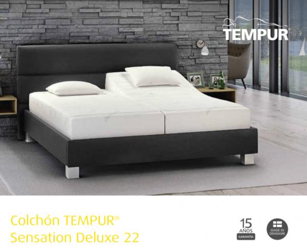 Colchón Tempur Sensation Deluxe 22